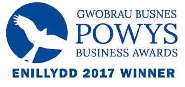 Powys Business Winner Logo